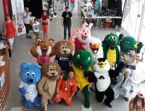 Les mascottes, nos héros