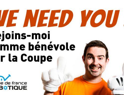 Deviens bénévole sur la Coupe