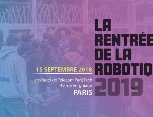 Rentrée de la Robotique 2019