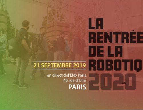 Rentrée de la Robotique 2020