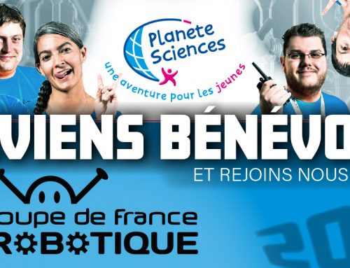 Devenez bénévole pendant la Coupe de France de Robotique 2019