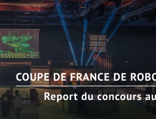 Report Coupe de France de Robotique