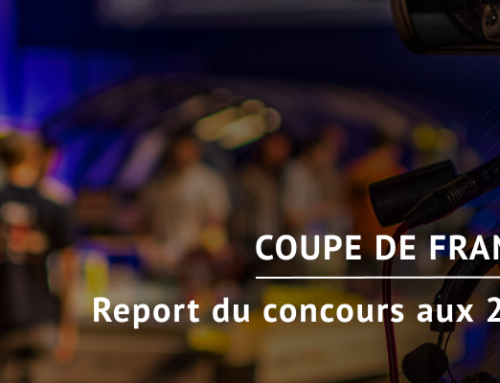 Report de la Coupe de France de Robotique en octobre 2020