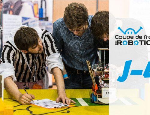 J-4 : Votre robot est-il prêt pour les homologations ?