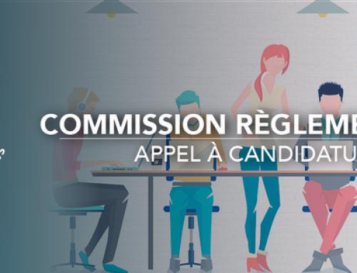 Appel à candidature pour le règlement 2021